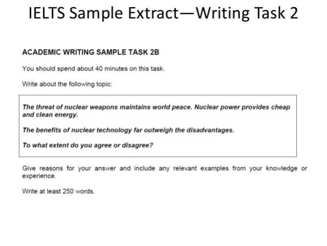 essay samples for ielts Ielts sample essays: in the ielts writing task 2 you have to write an essay of a minimum 250 words here you can view a variety of ielts essay topics.