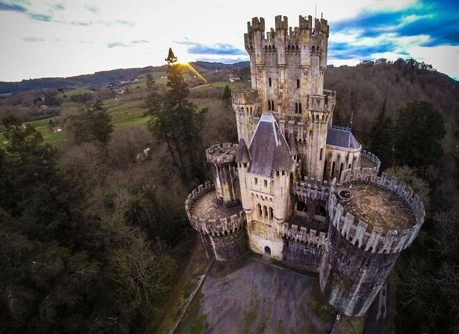 Купить старинный замок в испании