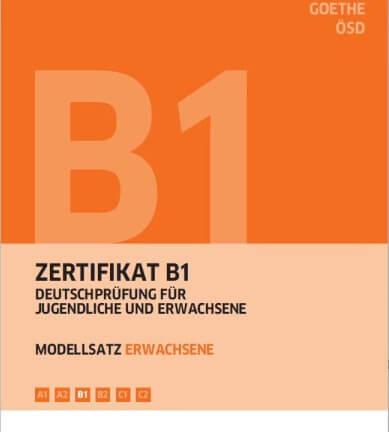 подготовка к экзамену B1 по немецкому языку примеры по всем частям