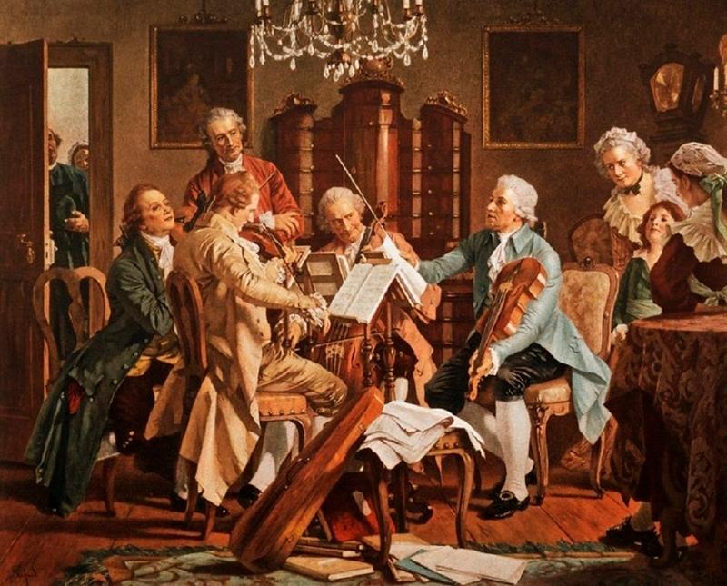 Музыканты играют фото