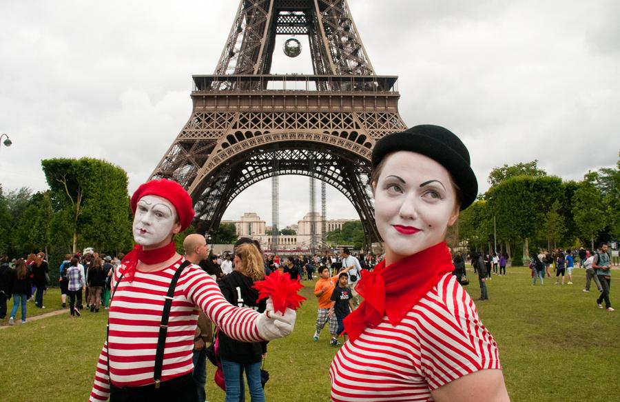Жители Франции фотоснимок
