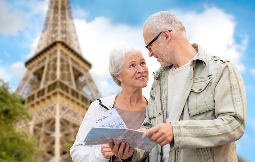 Пенсионеры Франции фото